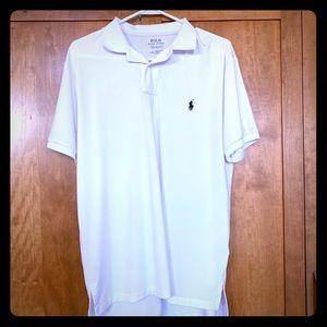 NWOT Polo Ralph Lauren white polo shirt